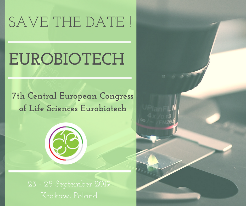 7th edition of the Central European Congress of Life Sciences Eurobiotech